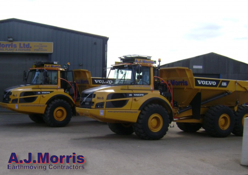 Plant Hire for Earthmoving