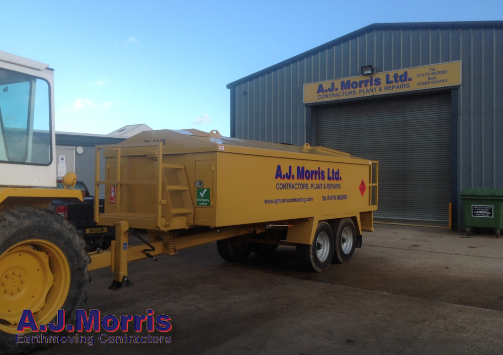Fuel & Ad Blue Service Unit AJ Morris Ltd