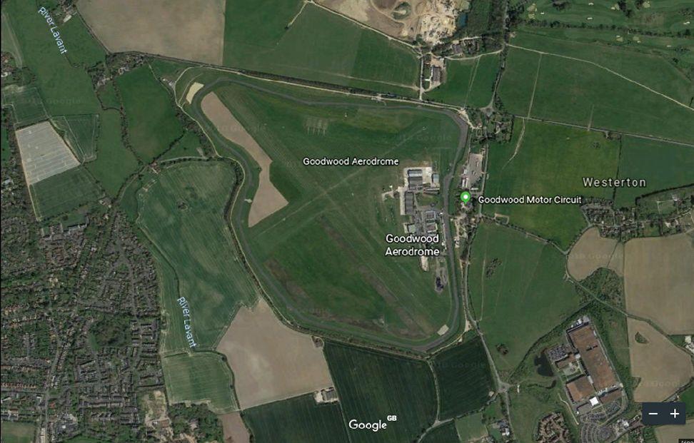 Goodwood Race Circuit, Southern England